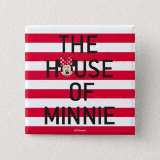 Minnie Mouse | The House of Minnie 15 Cm Square Badge