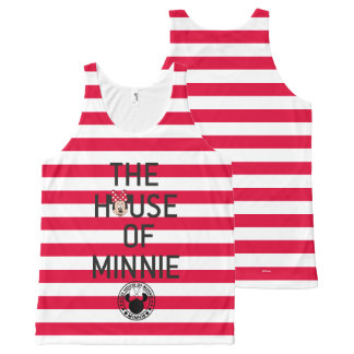 Minnie Mouse   The House of Minnie All-Over Print Singlet
