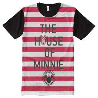 Minnie Mouse   The House of Minnie All-Over Print T-Shirt
