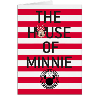 Minnie Mouse | The House of Minnie Card