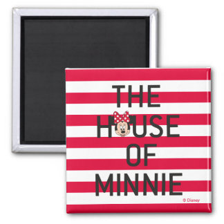 Minnie Mouse   The House of Minnie Magnet