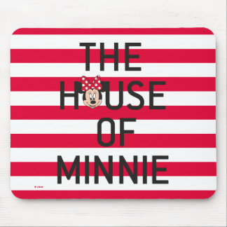 Minnie Mouse   The House of Minnie Mouse Pad