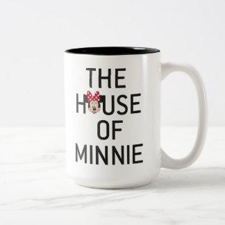 Minnie Mouse | The House of Minnie Two-Tone Coffee Mug