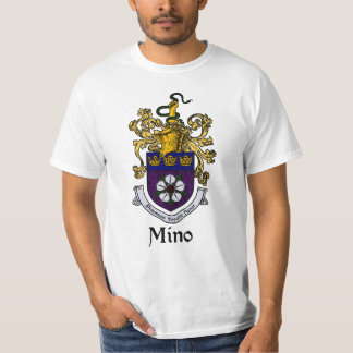 Mino Family Crest/Coat of Arms T-Shirt