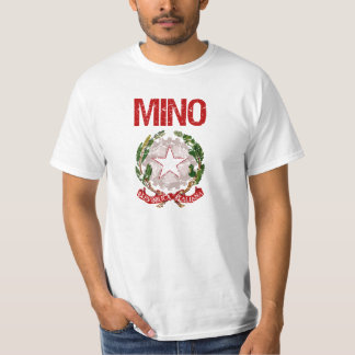 Mino Italian Surname Tee Shirt