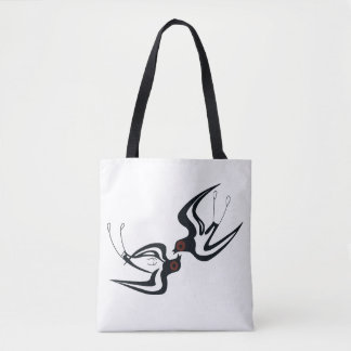 Minoan Swallow Tote Bag