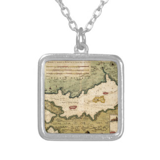 Minorca 1710 silver plated necklace