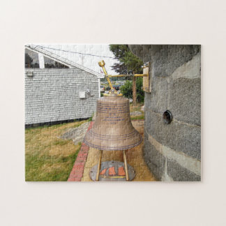 Minots Ledge Lighthouse Fog Bell Jigsaw Puzzle