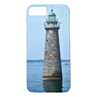 Minots Ledge Lighthouse Massachusetts iPhone Case