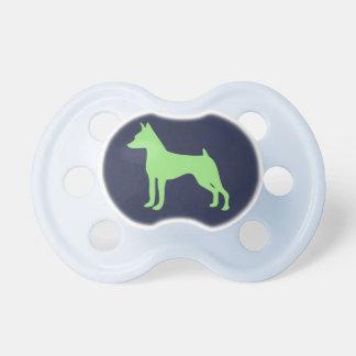 MinPin Baby Pacifier Miniature Pinsche Gift