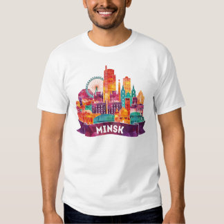 Minsk - Travel to the famous Landmarks Shirts