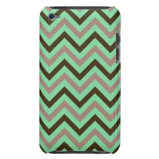Mint and Brown iPod Touch Case-Mate Case