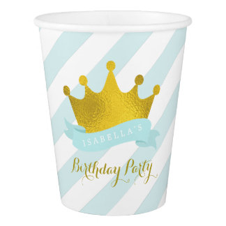 Mint and Gold Princess Birthday Party