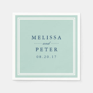 Personalised napkins from Zazzle