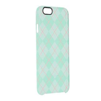 Mint Argyle iPhone 6 Case