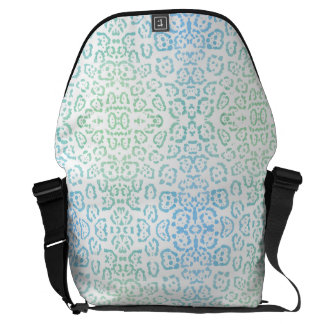 Mint Blue Leopard Pastel Kawaii Animal Print Green Commuter Bags