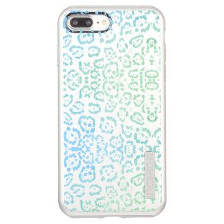 Mint Blue Leopard Pastel Kawaii Animal Print Green Incipio DualPro Shine iPhone 8 Plus/7 Plus Case