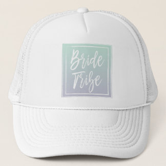 Mint Bride Tribe Hat
