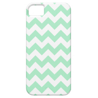 Mint Chevron Pattern Case For The iPhone 5