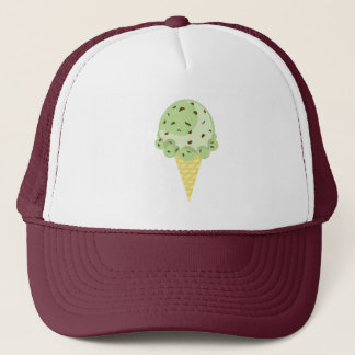 Mint Chocolate Chip Ice Cream Hat