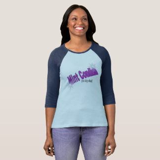 Mint Condish 3/4 Sleeve Baseball Shirt
