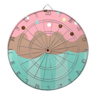 Mint Cupcake Dartboard