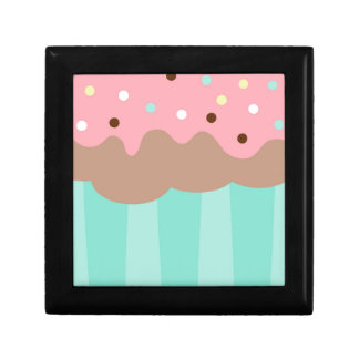 Mint Cupcake Gift Box