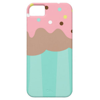 Mint Cupcake iPhone 5 Cases