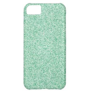 Mint Glitter iPhone 5C Case