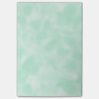 Mint Green and White Mottled Post-it Notes