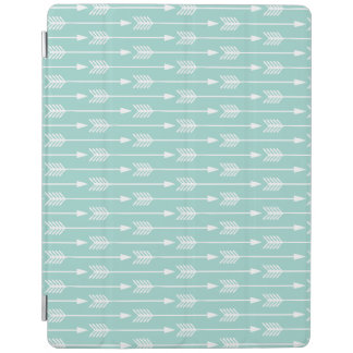 Mint Green Arrows Pattern iPad Smart Cover