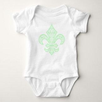MINT.GREEN BABY BODYSUIT