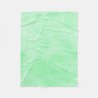 Mint Green Batik Lovely Cloudy Sky Fleece Blanket