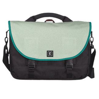 Mint Green Elegant Pattern. Fashion Color Trend Computer Bag