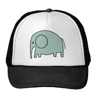 MINT GREEN ELEPHANTS CAP