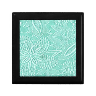 Mint Green Floral Gift Box