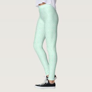 2a50b8840a82b Women's Mint Green Leggings & Tights | Zazzle AU