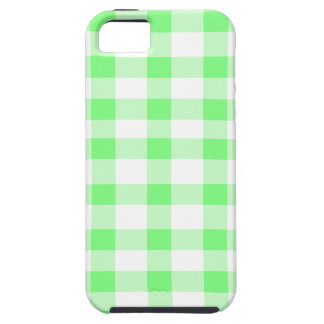 Mint Green Gingham iPhone 5 Cover