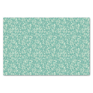Mint Green Glitter And Sparkles. Tissue Paper