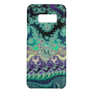 Mint Green Lavender Fractal Monogram Case-Mate Samsung Galaxy S8 Case
