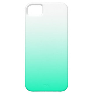 Mint Green Ombre Case For The iPhone 5