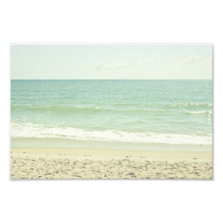 Mint Green Pastel Beach Photography Photo