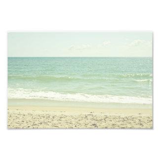 Mint Green Pastel Beach Photography Photo