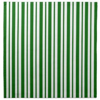 Mint Green Pinstripes Napkin