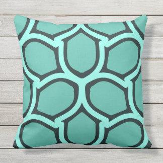 Mint green retro elegance cushion