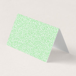 Mint Green Speckled Blank Greeting Cards