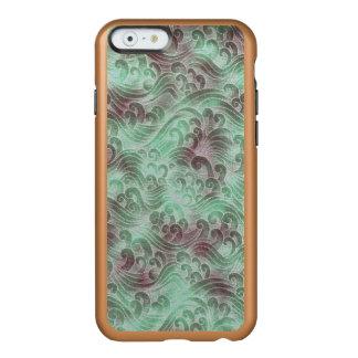 Mint Green Tsunami Ocean Tidal Wave Plum Color Sea Incipio Feather® Shine iPhone 6 Case