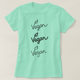 Mint Green Vegan T-Shirt