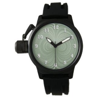 Mint Green Vortex Wristwatches