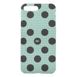 Mint Halftone Dots iPhone 7 Plus Case